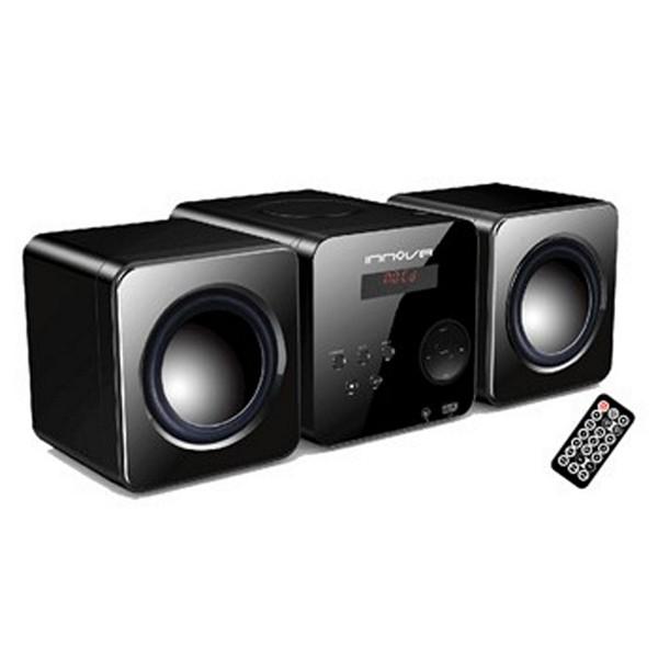 Mini Hi-Fi systémy Innova 222794 HIFI 20W USB Černý