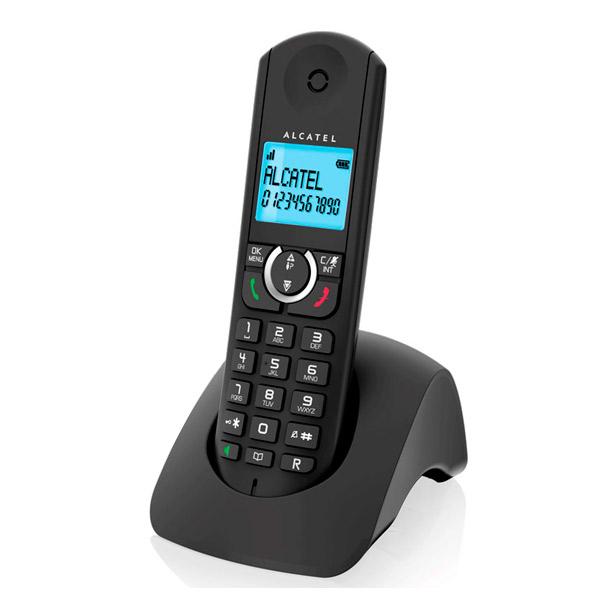 Telefon Bezprzewodowy Alcatel F380S Duo Czarny