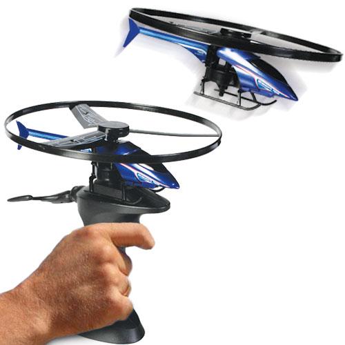 Vrtulník s odpalovačem