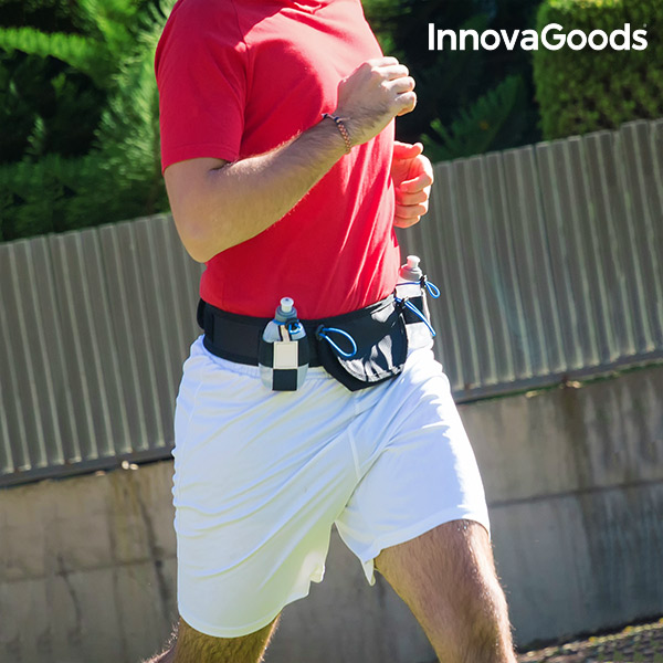Pas Sportowy z Bidonami InnovaGoods