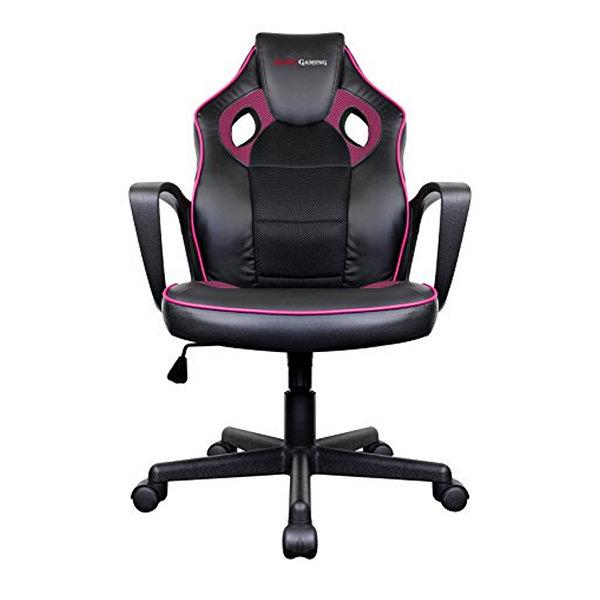 Fotel dla Graczy Tacens MGC0BPK Metal PVC Czarny Różowy
