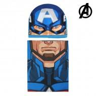 Čiapka a nákrčník The Avengers 01037
