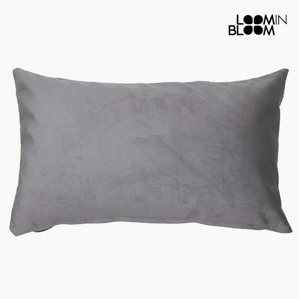 Polštářek Polyester Šedý (30 x 50 x 10 cm) by Loom In Bloom