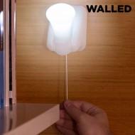 Przenośna Lampa LED ze sznurkiem Walled LB15 (zestaw 3 sztuk)