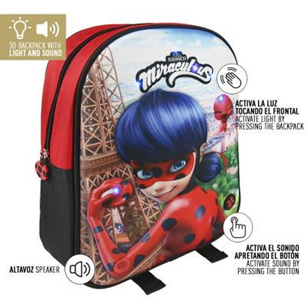 2a46b8c0212 Školní batoh 3D Lady Bug