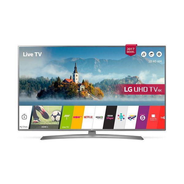 "Chytrá televize LG 65UJ670V 65"" HD Ready LED Wifi Stříbro"