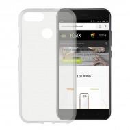 Puzdro na mobil Xiaomi Mi A1 Flex TPU Transparentná