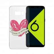 Puzdro na mobil Samsung Galaxy S8+ Flex TPU Transparentná