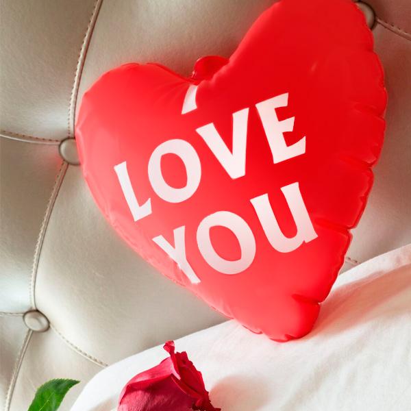 Nadmuchiwane Serce I Love You