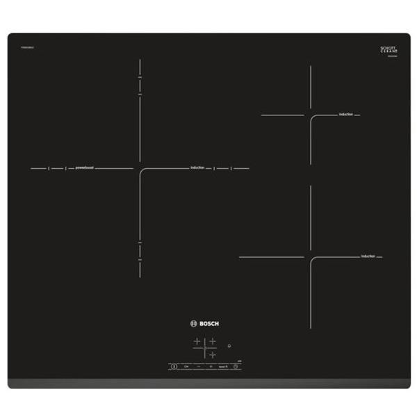 Indukční Plotýnka BOSCH PID631BB1E 7400W 60 cm Černý