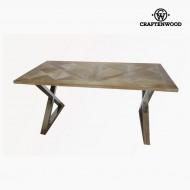 Masă de Sufragerie Lemn de tec (180 x 90 x 79 cm) by Craftenwood