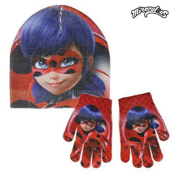 Čepice a rukavice Lady Bug 049
