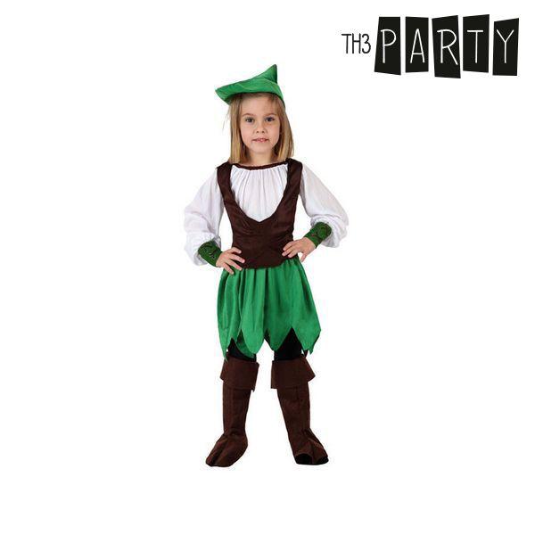 Kostium dla Dzieci Th3 Party Dziewczynka z lasu - 7-9 lat