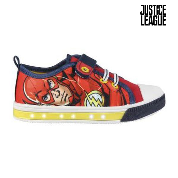 Vycházkové boty s LED Justice League 2154 (velikost 24)