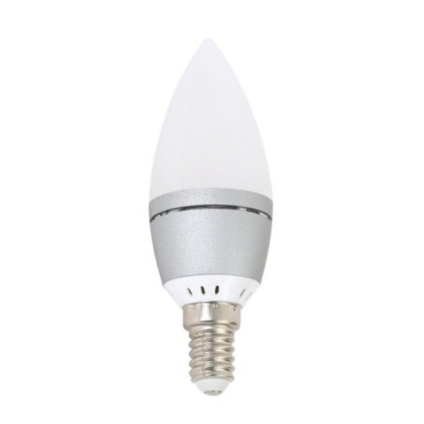 Žárovka Svíčka Omega E14 4W 300 lm 2800 K Teplé světlo