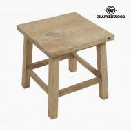 Postranní stolek Dřevo Hranatý - Natural Kolekce by Craftenwood