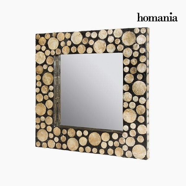 Zrcadlo Perleť (54 x 4 x 54 cm) by Homania