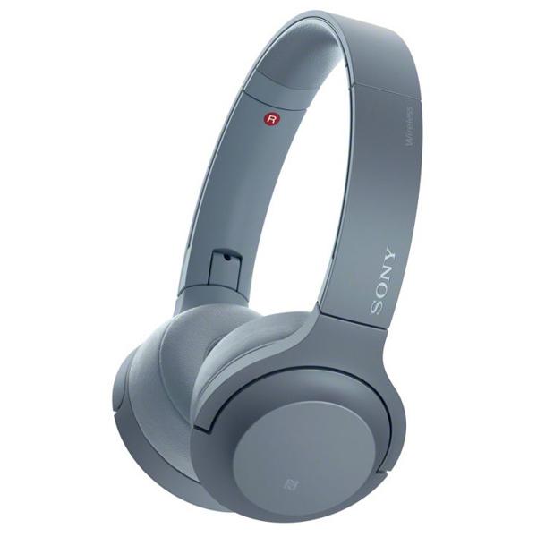 Słuchawki nauszne Sony WHH800L 100 dB Niebieski