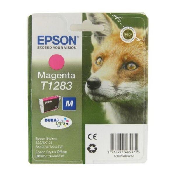 Originální inkoustové náplně Epson C13T128340 Purpurová