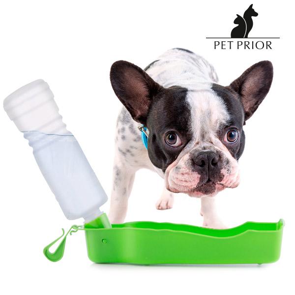 Przenośne Poidełko z Butelką dla Zwierząt Pet Prior