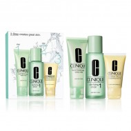 Souprava sdámskou kosmetikou 3 Steps Intro Skin Type I Clinique (3 pcs)