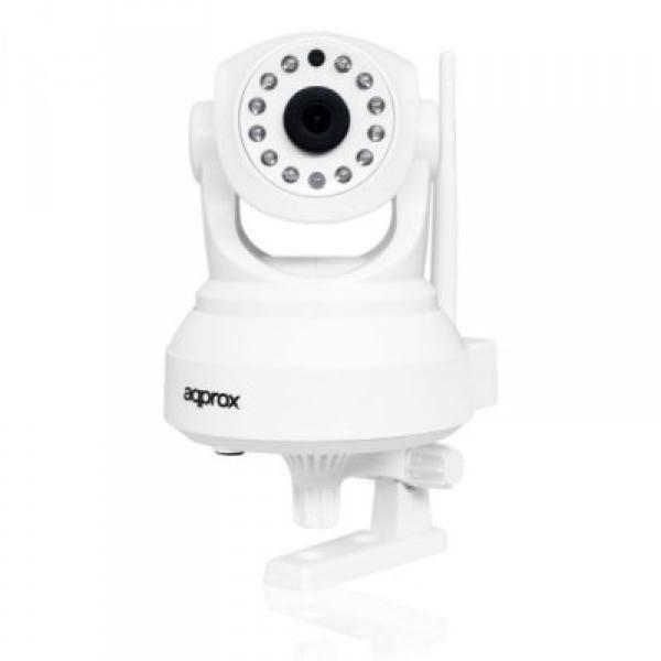IP Kamera approx! APPIP02P2P HD 720 p P2P Wifi Bílý
