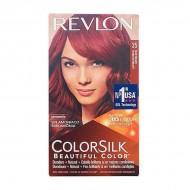 Farba bez Amoniaku Colorsilk Revlon Energiczna czerwień