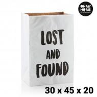 Papírová Taška Střední Oh My Home (30 x 45 x 20 cm)