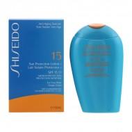 Krém na opalování na tvář Sun Protection Anti Aging Shiseido Spf 15 (150 ml)