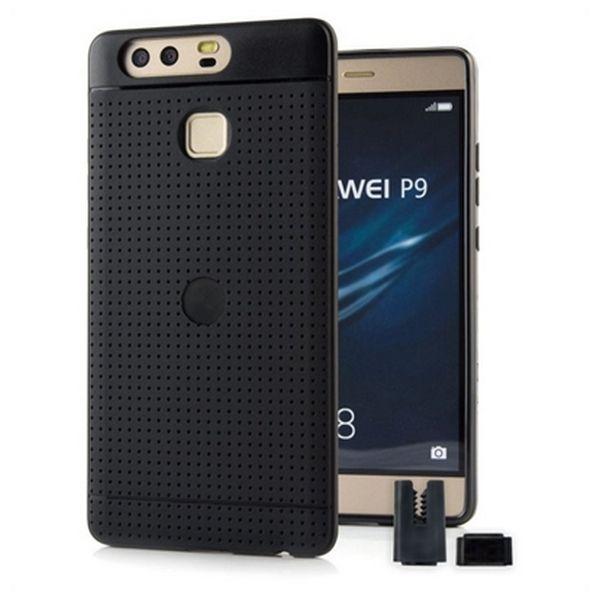 Pokrowiec na Komórkę STIKGO STIK00071 Huawei P9 CarClip TPU Czarny