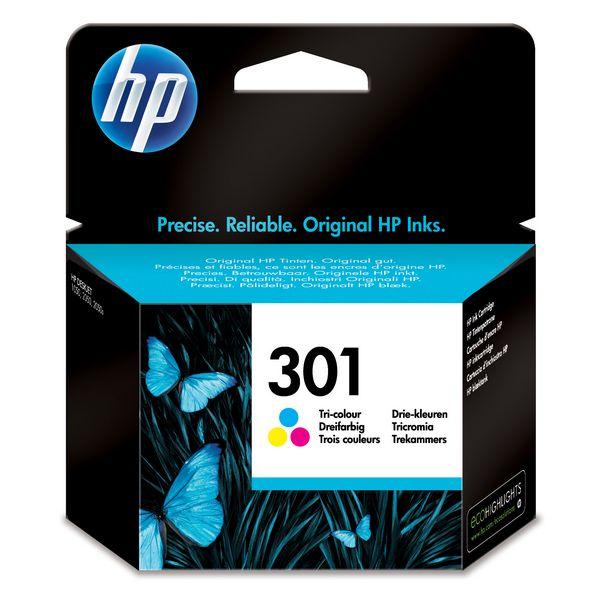 Originální inkoustové náplně HP CH562EE 301
