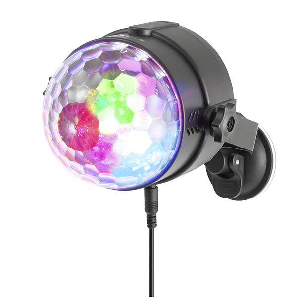 Malá disco koule NGS Spectra Rave USB 18W