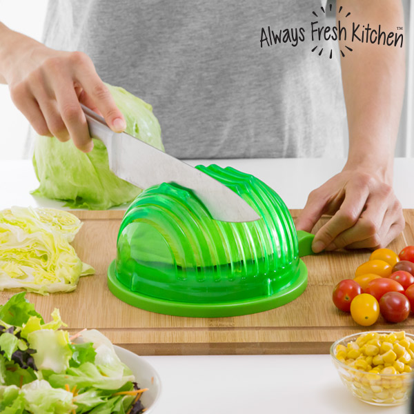 Mísa na Umývání, Ždímání a Rychlé Krájení Salátů Quick Salad Maker