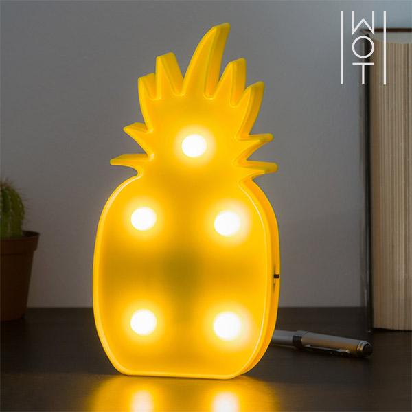 Nástěnná LED Lampička Ananas Wagon Trend (5 LED)