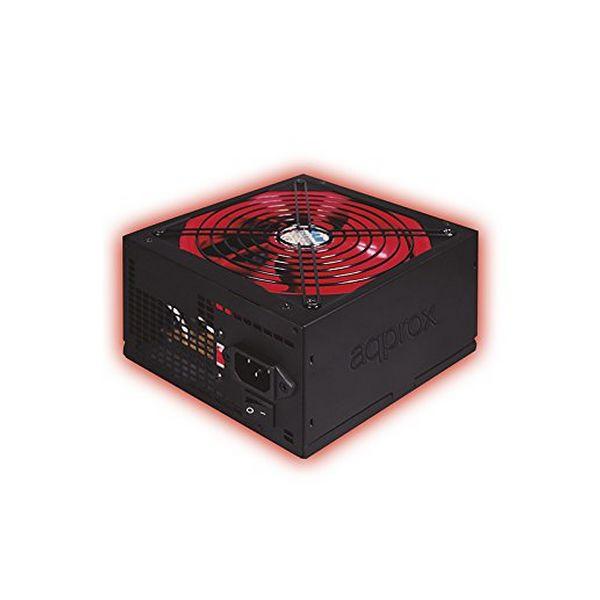 Gaming Power Supply approx! APP800PSv2 14 cm APFC 800W Černý Červený