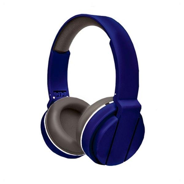 Sluchátka s mikrofonem Ref. 101431 Modrý