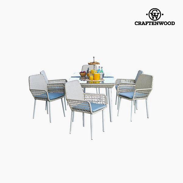 Stůl se 6 židlemi (7 pcs) by Craftenwood