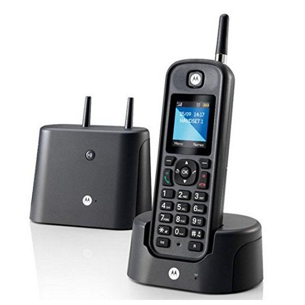 Telefon Bezprzewodowy Motorola O201 Czarny