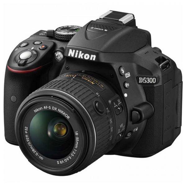 Reflex camera Nikon D5300 Černý