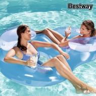 Inflatable Chair Bestway 43009 Modrý
