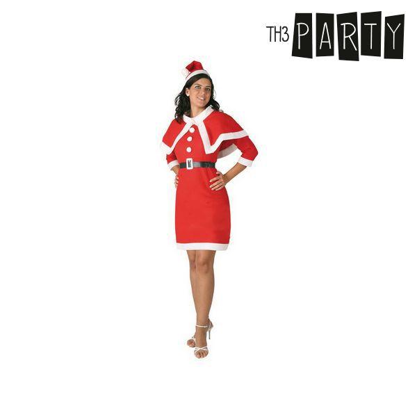 Kostium dla Dorosłych Th3 Party Dziewczyna świętego mikołaja Filc - M/L