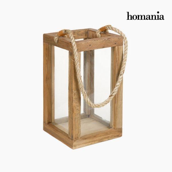 Lampion Drewno - Autumn Kolekcja by Homania