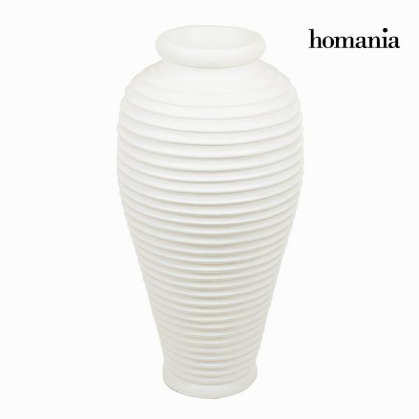Wazon Biały - Ellegance Kolekcja by Homania