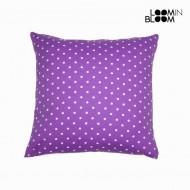 Poduszka w krety kolor fioletowy - Little Gala Kolekcja by Loom In Bloom