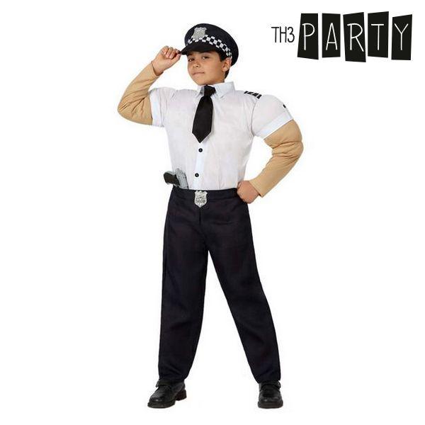 Kostým pro děti Th3 Party Svalnatý policajt - 7–9 roků