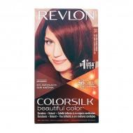 Farba bez Amoniaku Colorsilk Revlon Ciemny miedziany kasztan