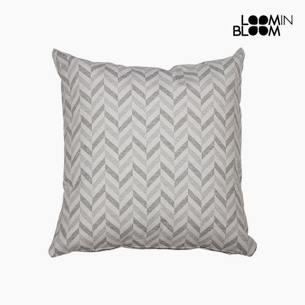 Polštářek Bavlna a polyester Šedý (60 x 60 x 10 cm) by Loom In Bloom