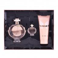 Souprava sdámským parfémem Olympéa Paco Rabanne (3 pcs)