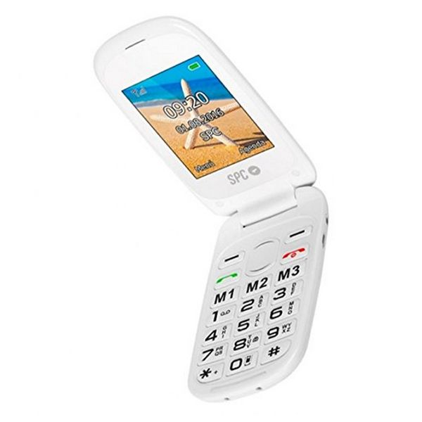 Mobilní Telefon SPC Harmony 2304B Bluetooth FM Bílý