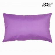 Fioletowa poduszka panama by Loom In Bloom